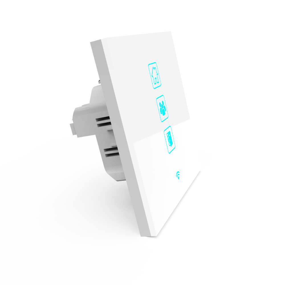 Wi-Fi Akıllı Senaryo Anahtarı Beyaz